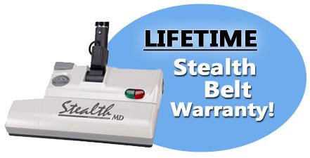 Lifetime Warranty for Stealth Belts